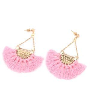 Jewelry - Light pink Tassel Earrings